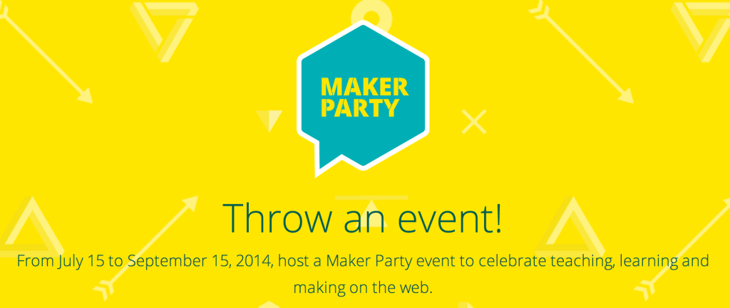 Celebrate teaching with mozilla maker party