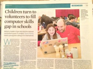 UK National News: Coderdojo
