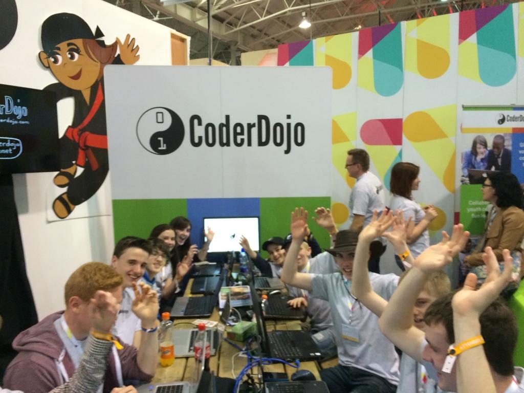 CoderDojo_at_websummit2014