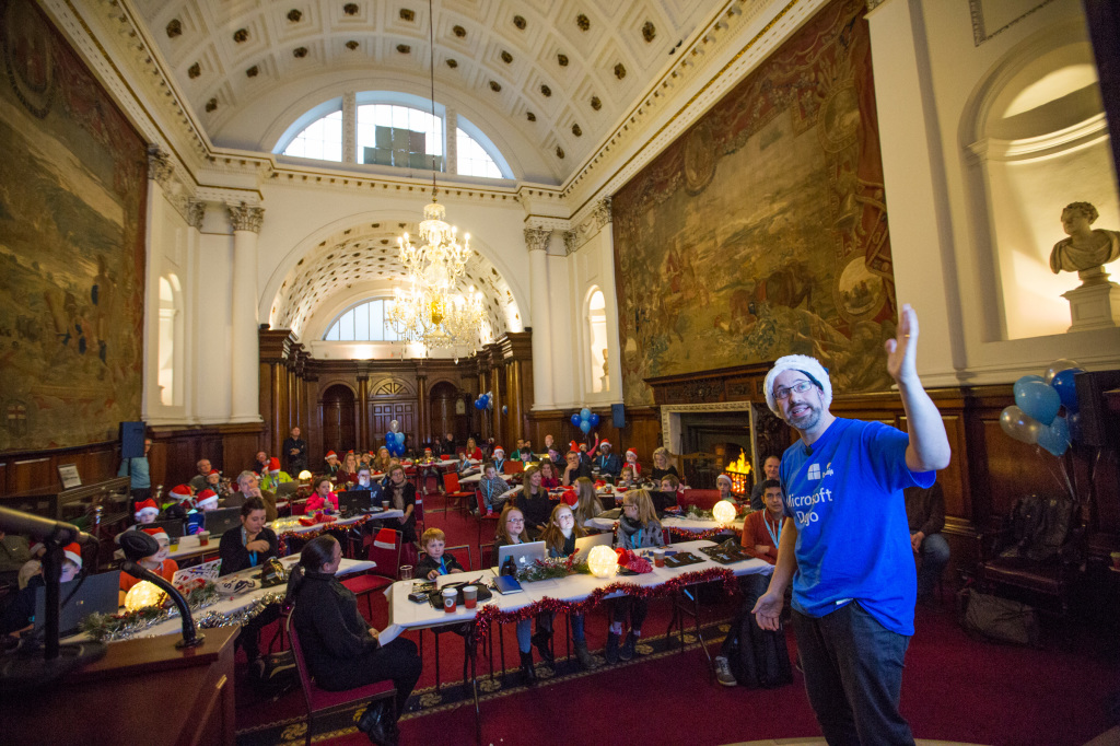 CoderDojo in House of Lords college Green-2
