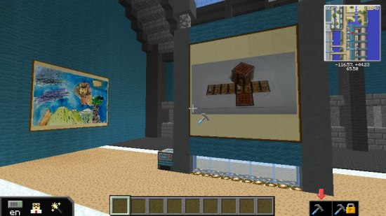 CD05 Real Art in Minecraft