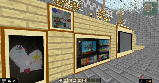 CD11 Real Art in Minecraft