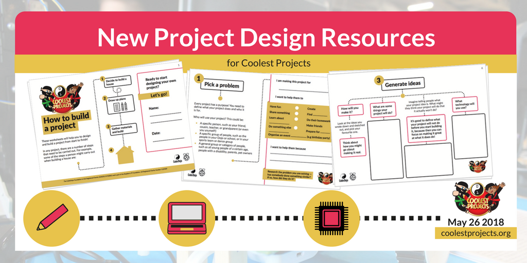 Idea Generation and Design Resources for Coolest Projects! - CoderDojo
